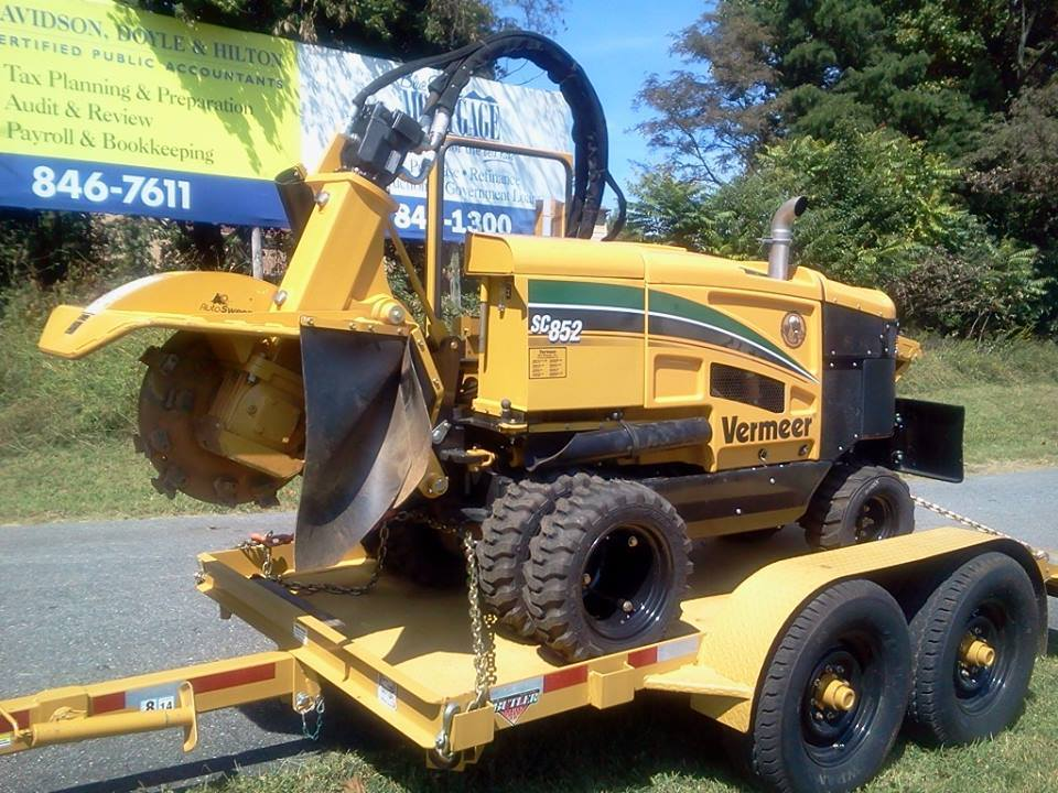 stump removal Lynchburg VA